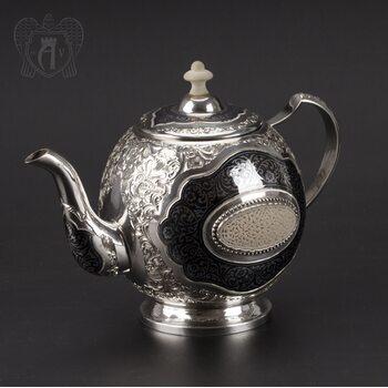 Серебряный чайник «Эксклюзив»
