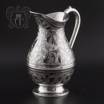 Для напитков кувшин из серебра «Изящный век»