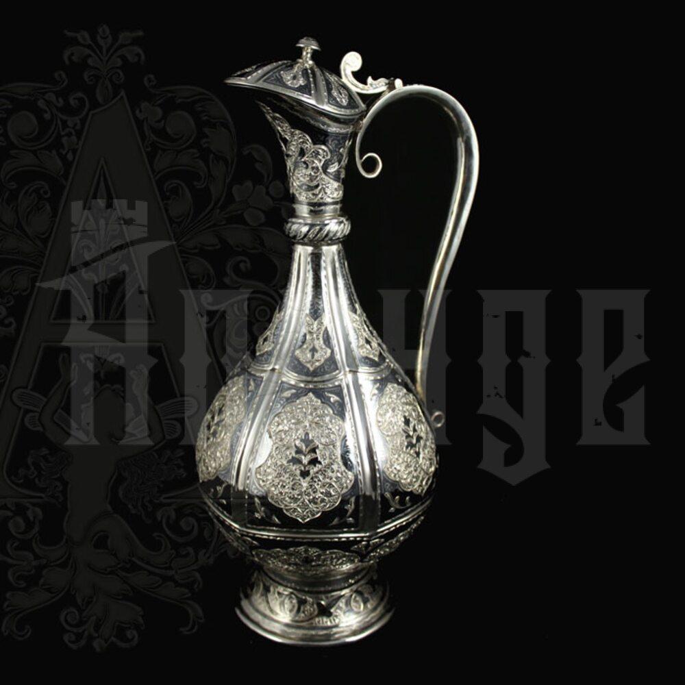 Серебряный кувшин  «Виноградная лоза» Апанде, 5400079