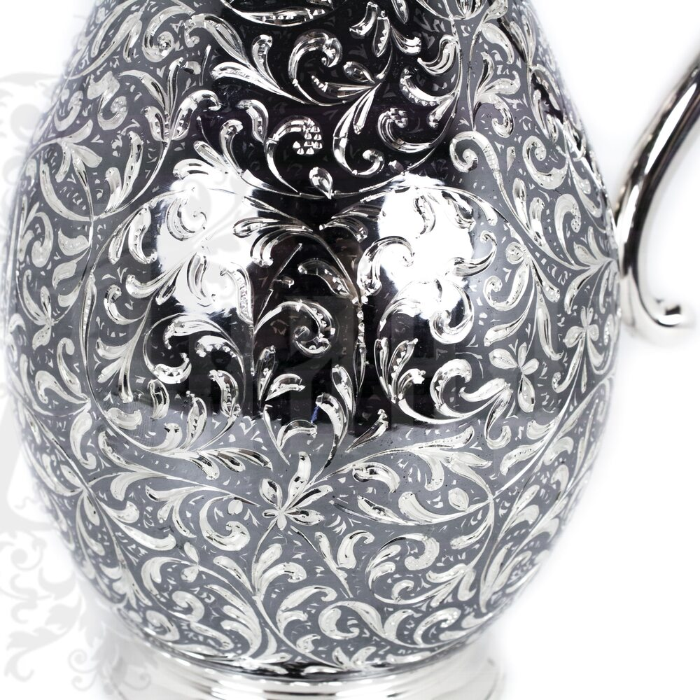 Кувшин серебряный без крышки «Розалия» Апанде, 540013