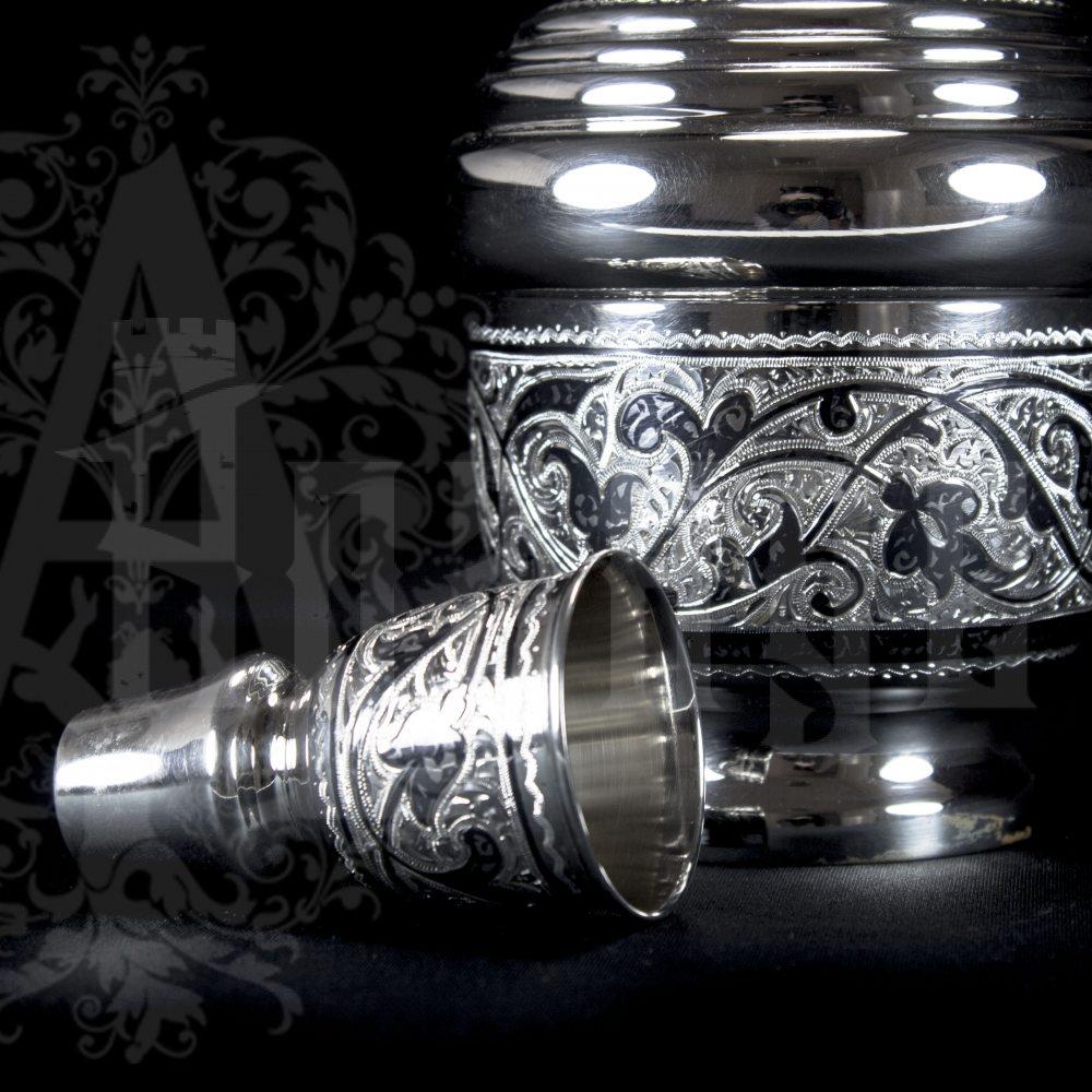 Серебряный графин «Охотничий»  Апанде, 5400507