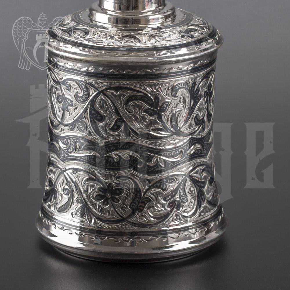 Графин (штоф) серебряный для виски «Экватор» Апанде, 5400510