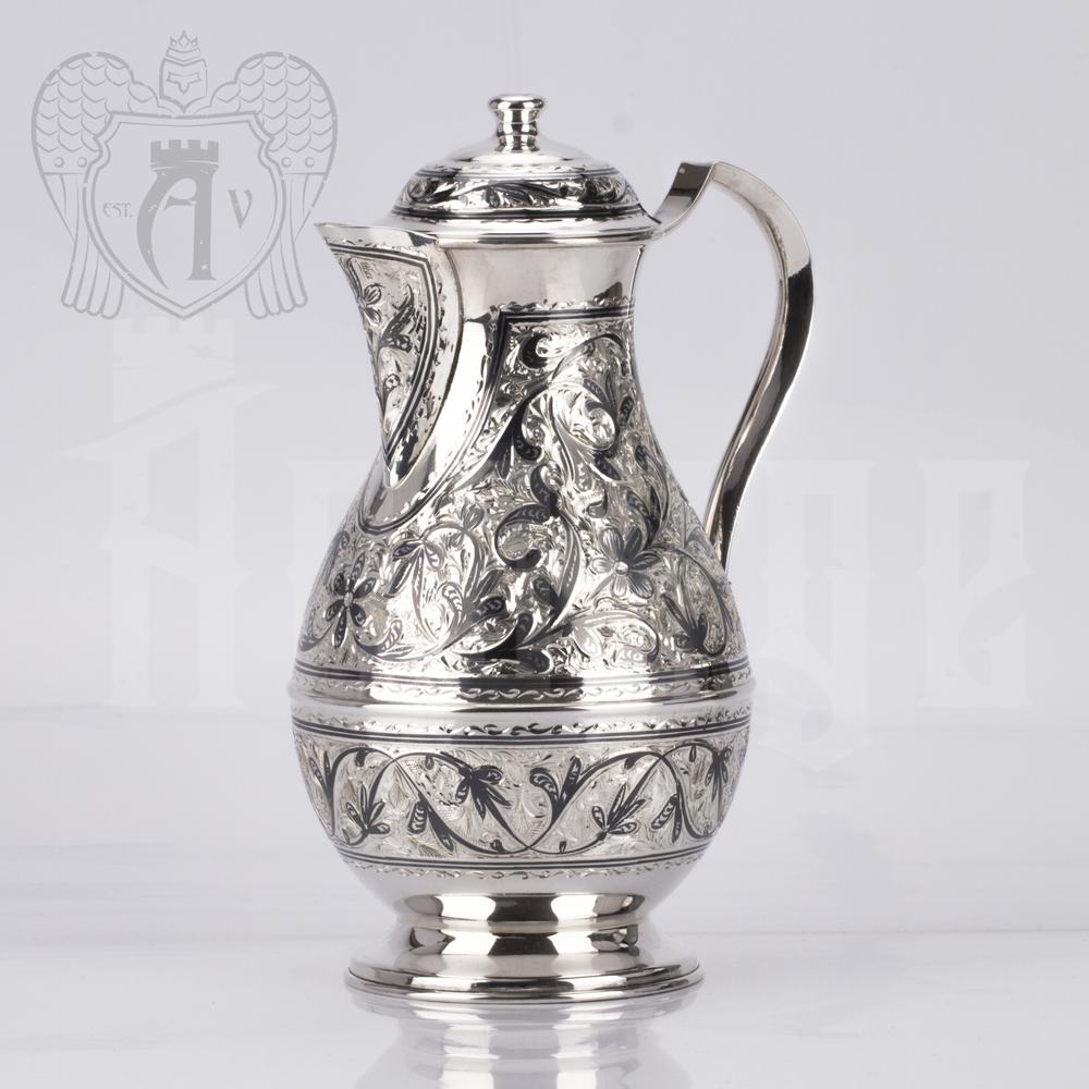 Кувшин из серебра 925 пробы «Новый век» Апанде, 5400521