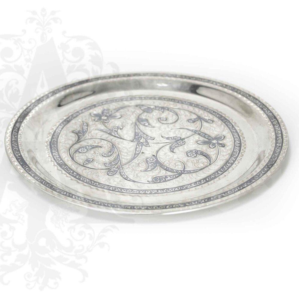 Серебряный поднос «Столичный» Апанде, 770005
