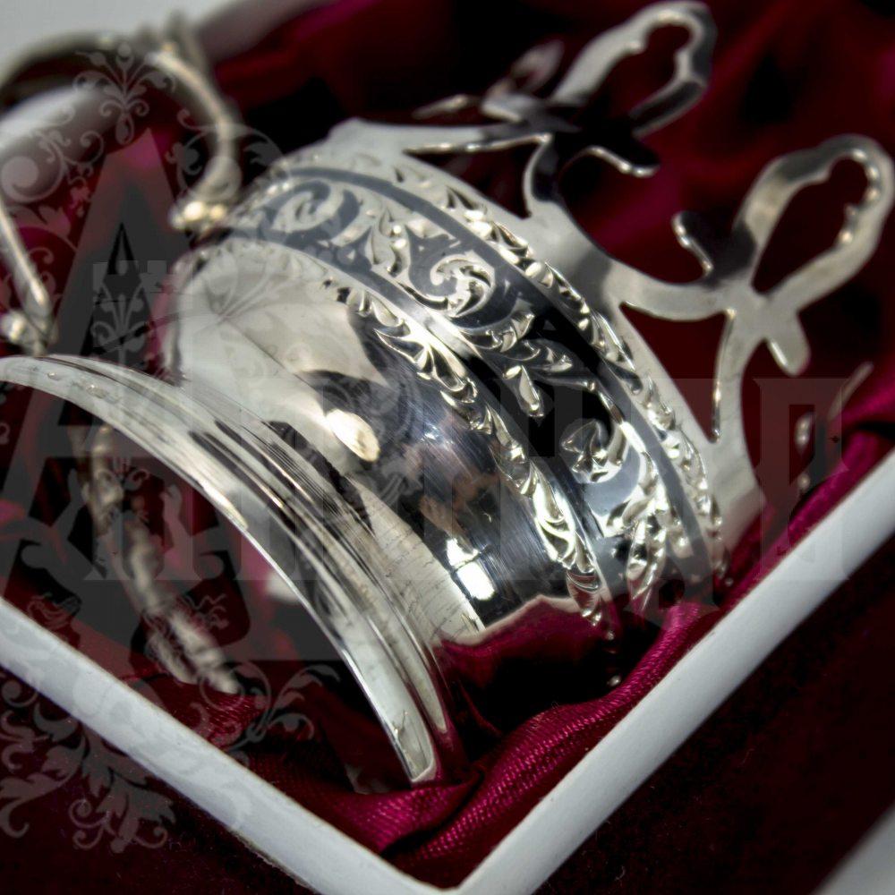Подстаканник серебряный «Восточный» Апанде, 88001354т