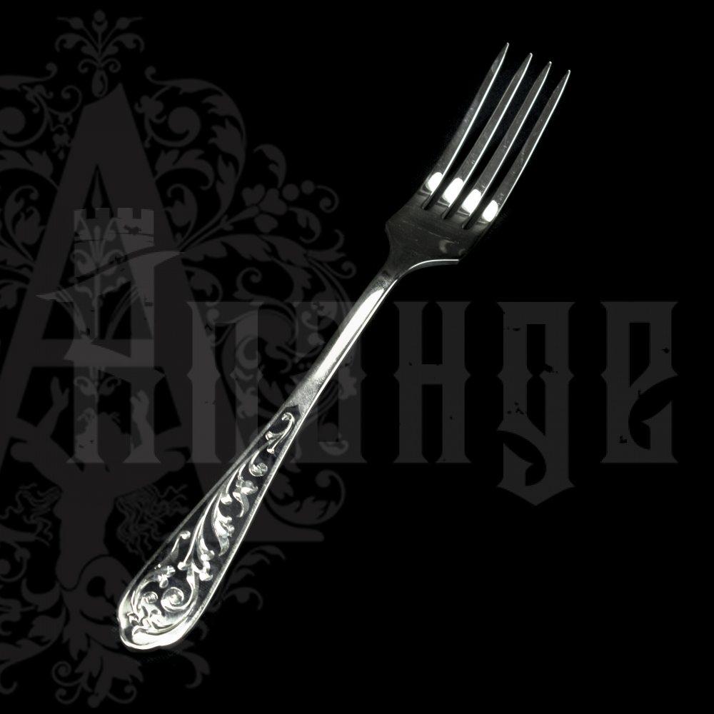 Столовый набор десертный из серебра на 6 персон «Виноградная лоза» Апанде, 22000226