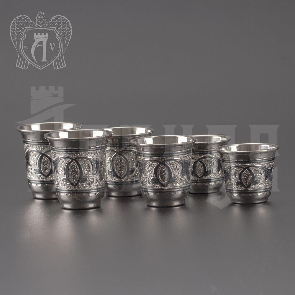 Стопка из серебра 875 пробы «Сигма-Б» Апанде, 8900095