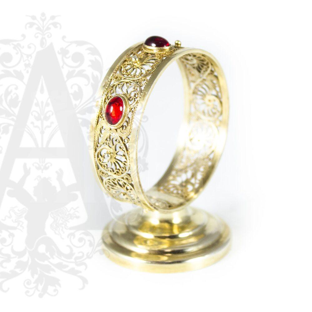 Салфетница серебряная «Апанде» филигрань Апанде, 5100012