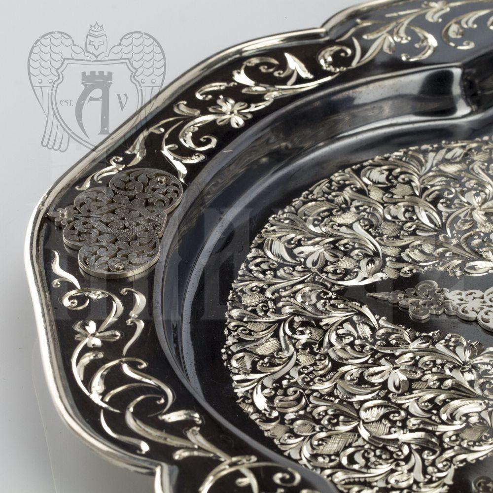 Самовар из серебра электрический «Мимесис» Апанде, 940090