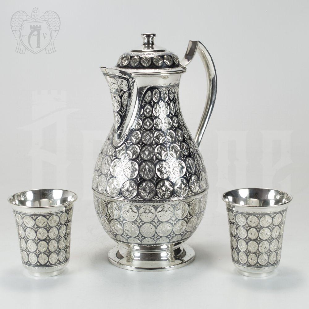 Сервиз серебряный «Императорский» Апанде, 11100050