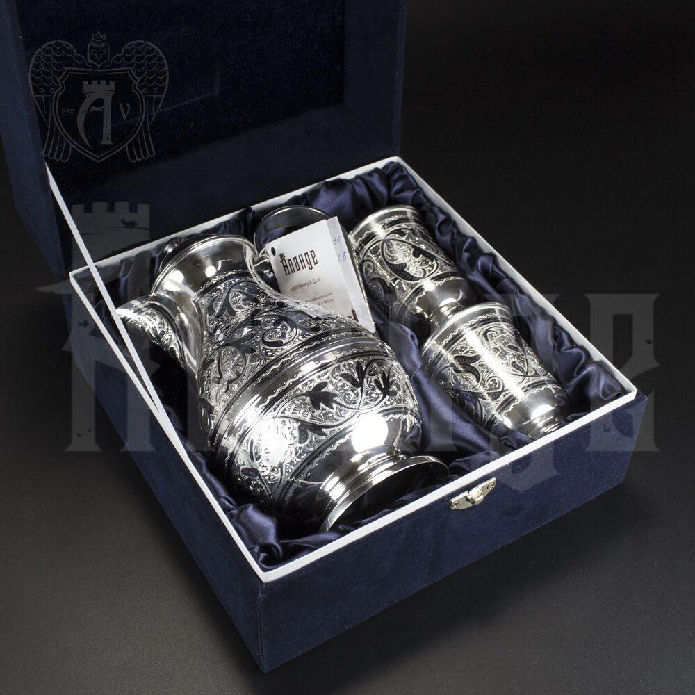 Серебряный набор для воды/напитков  «Сальва» Апанде, 11100061
