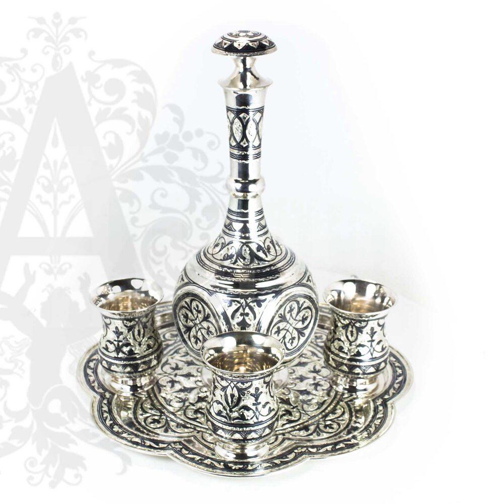 Сервиз серебряный «Барон» Апанде, 11100412