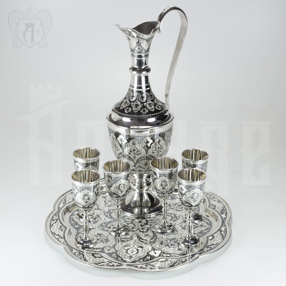 Серебряный сервиз винный «Султан» Апанде, 11100413