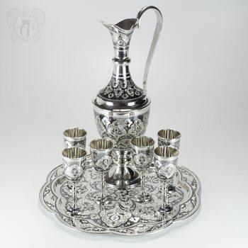 Серебряный сервиз винный «Султан»