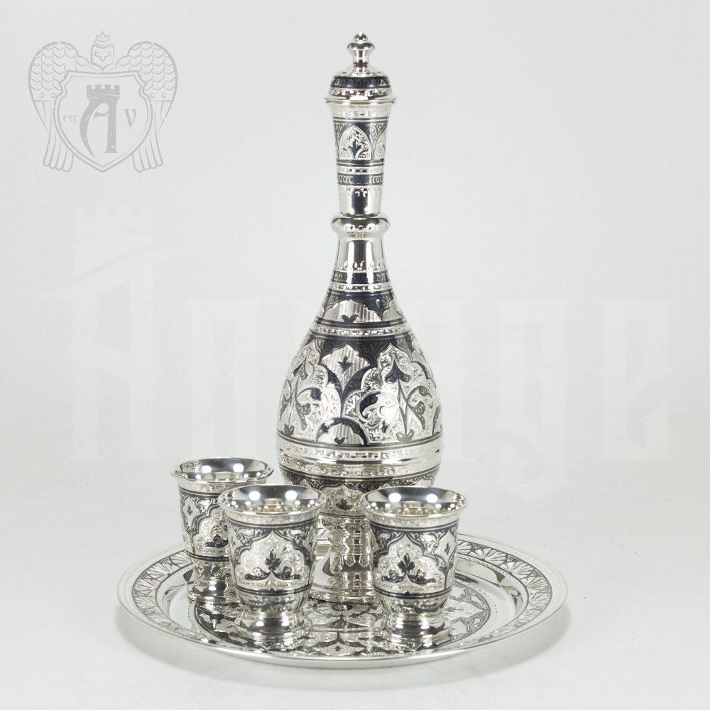 Серебряный сервиз «Шах»  Апанде, 111005100