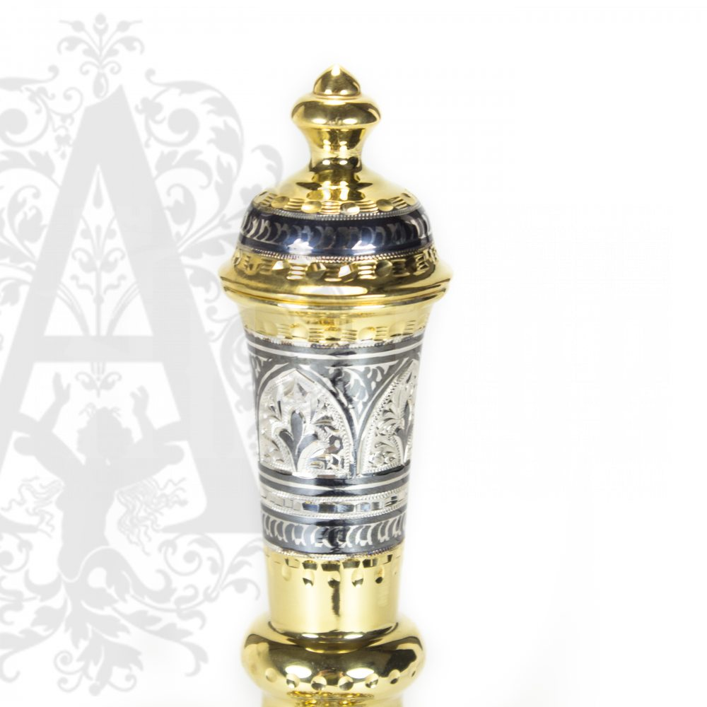 Серебряный сервиз «Шах» с позолотой  Апанде, 111005101