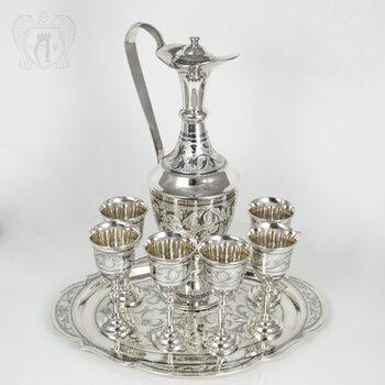 Серебряный сервиз винный «Королевский»