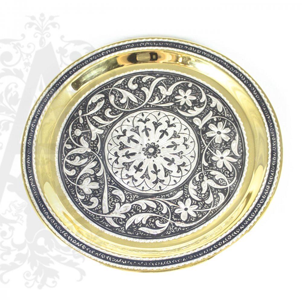 Серебряный водочный набор «Кубачи» Апанде, 11100540