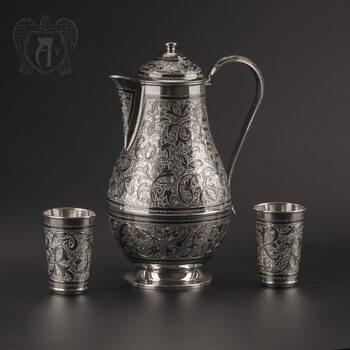 Сервиз из серебра 925 пробы для воды «Дворцовый»