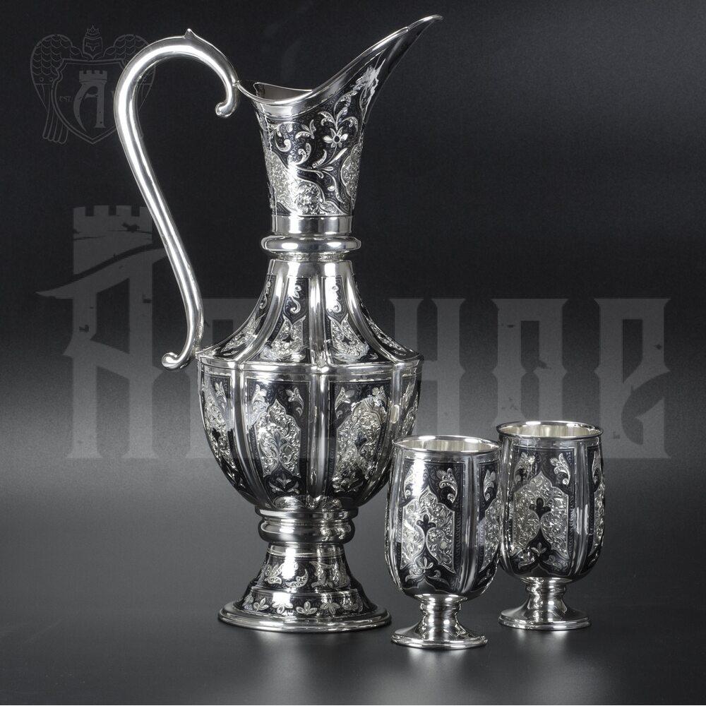Сервиз серебряный «Южная ночь» Апанде,  111049255