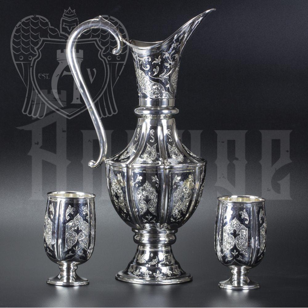 Сервиз серебряный «Южная ночь»  Апанде, 111049256