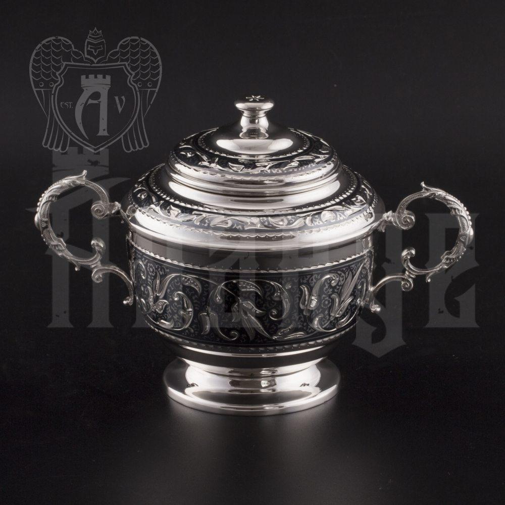 Сервиз серебряный чайный «Венеция» Апанде, 111049270
