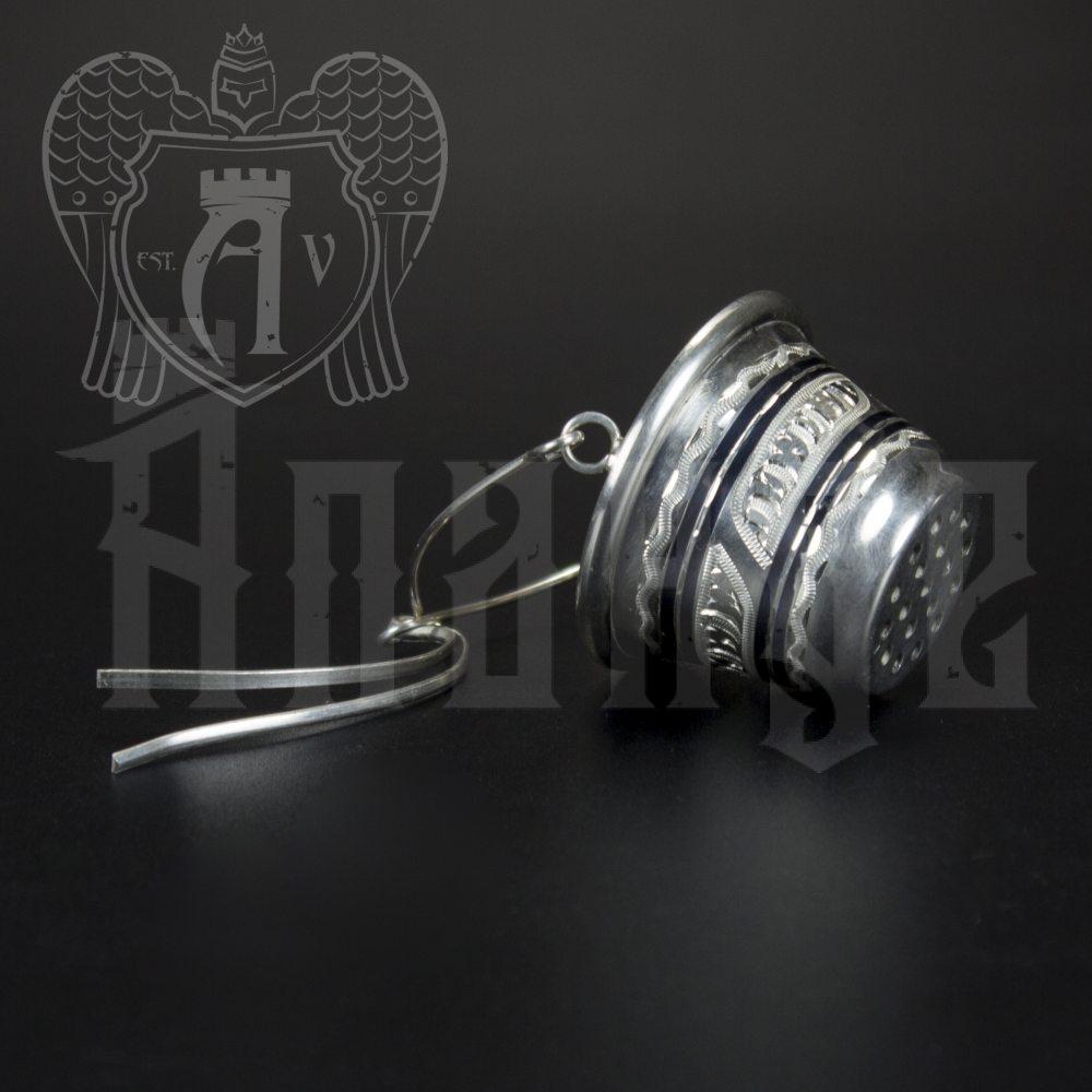 Серебряное ситечко чайное Апанде, 9001001