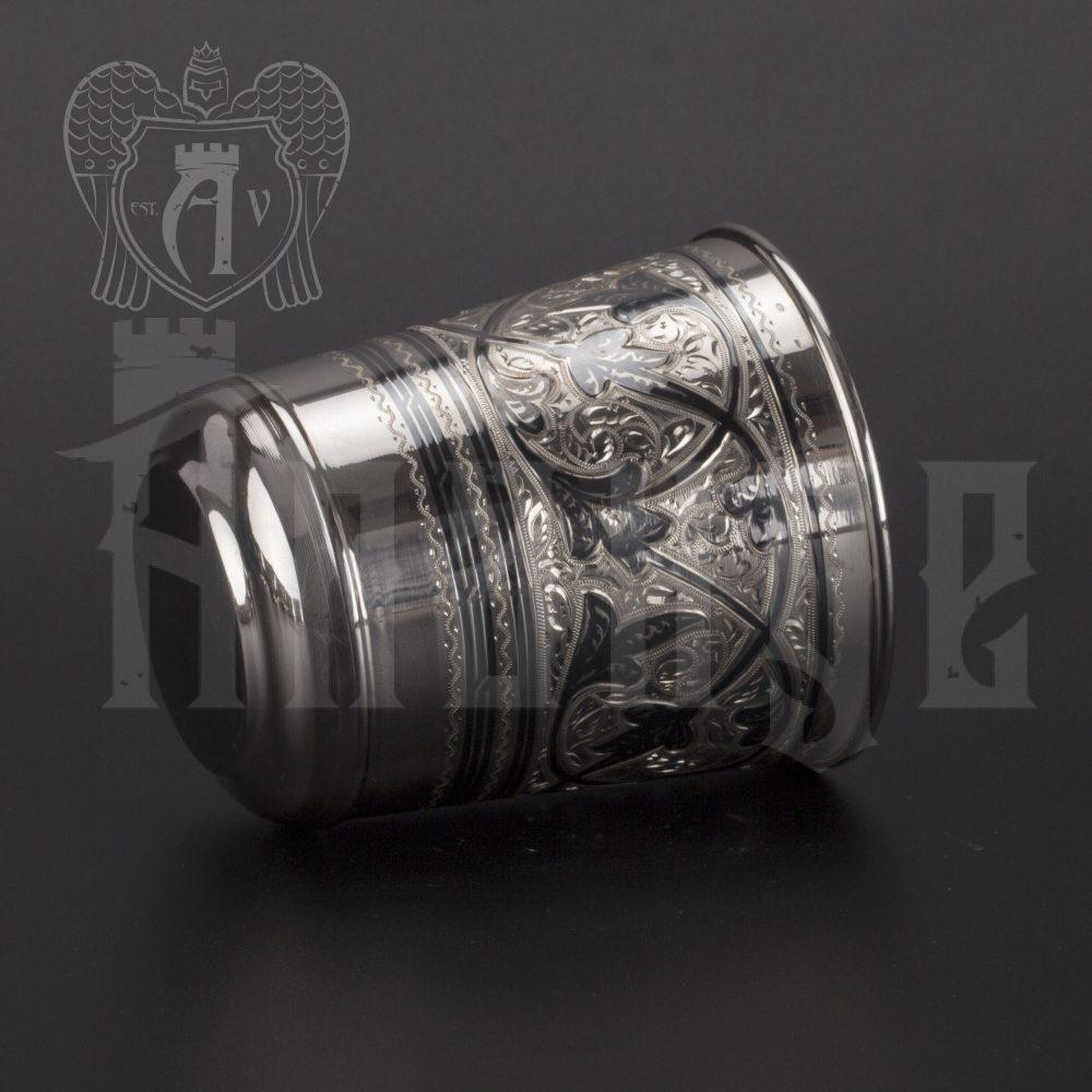 Серебряный стакан «Родник»  Апанде, 710004