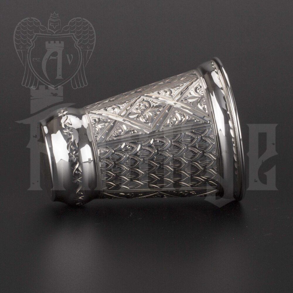 Стакан серебряный «Прохладный ключ»  999 пробы Апанде, 71000424