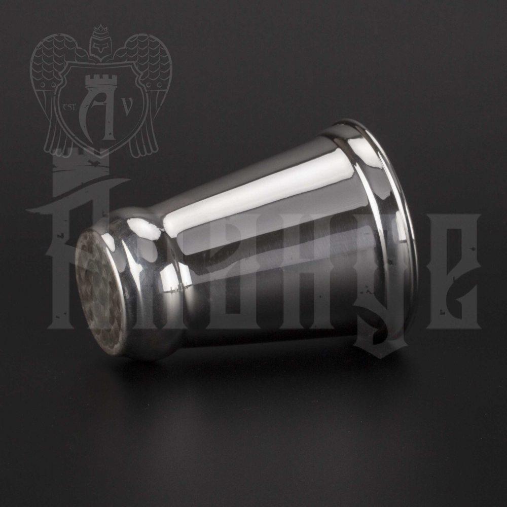 Серебряный стакан «Иней» из чистого серебра 999 пробы Апанде, 71000501