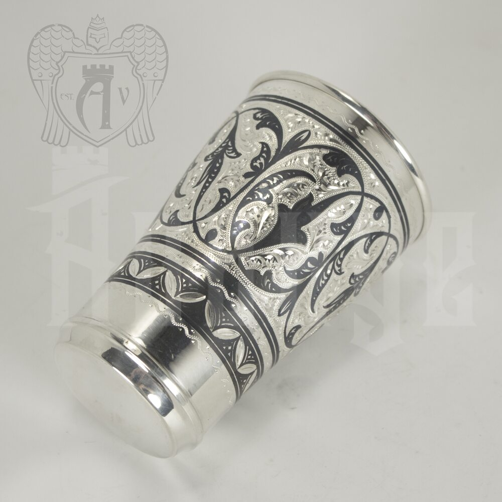 Серебряный стакан «Весенний» Апанде, 71000556