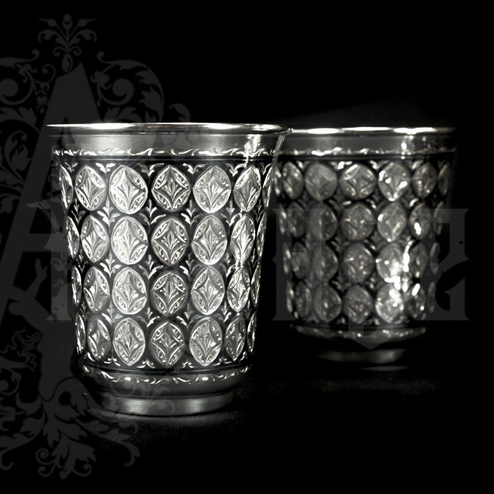 Серебряный стакан «Императорский» Апанде, 7100065