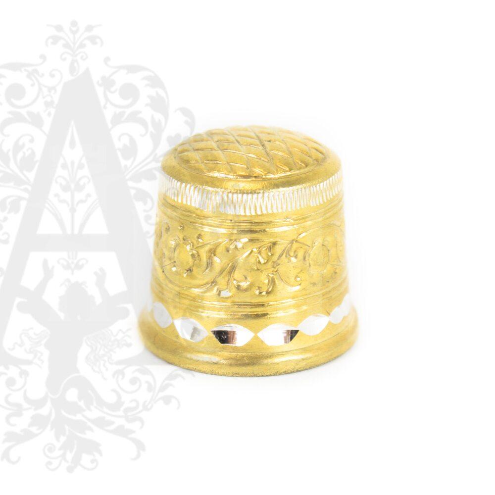 Наперсток Кубачи с позолотой Апанде, 7770015