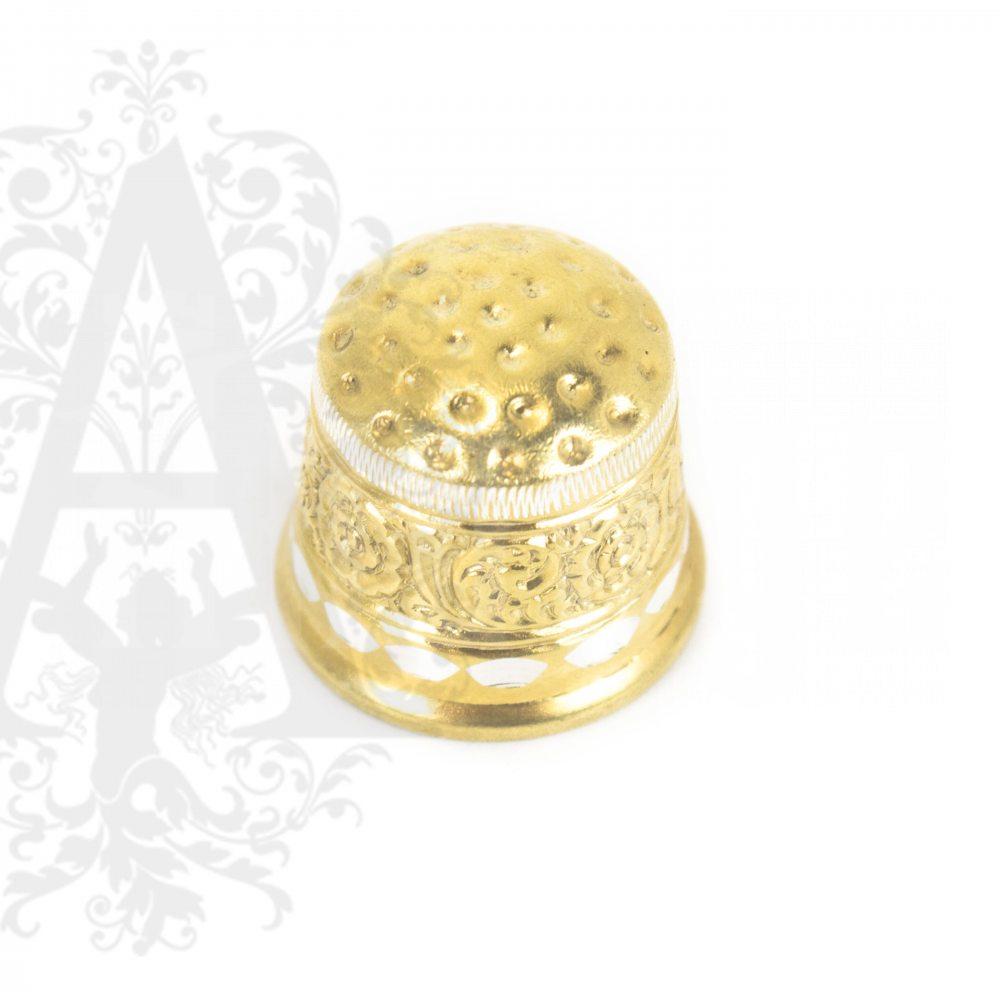 Наперсток Кубачинский с позолотой Апанде, 7770016