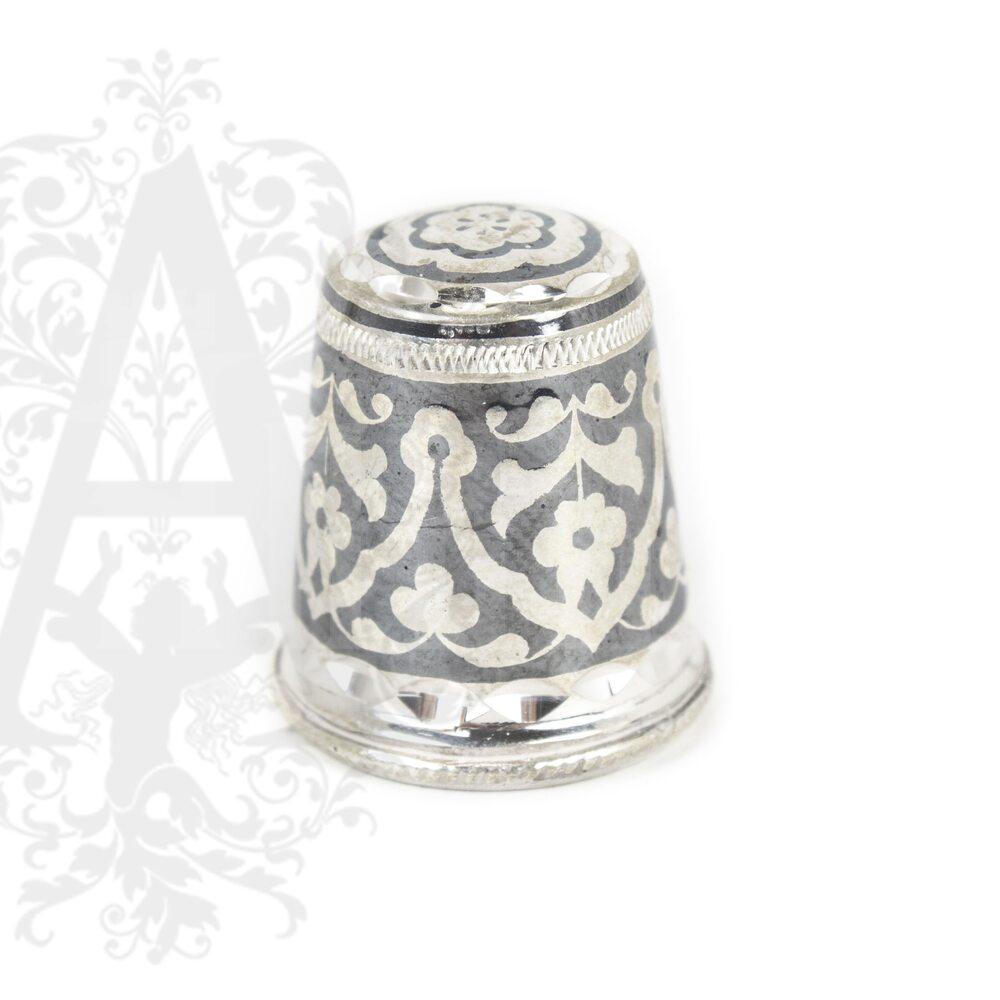Наперсток из серебра «Башня-Ч» Апанде, 7770019
