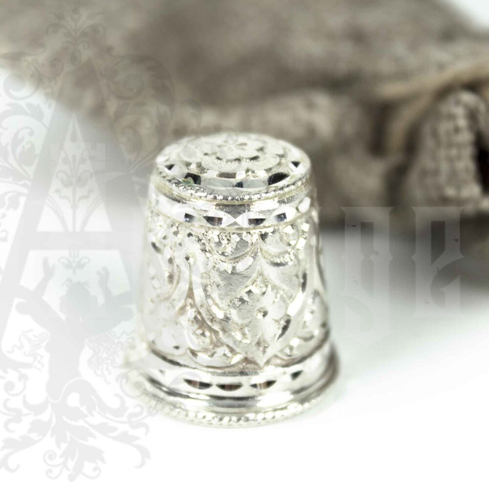 Наперсток из серебра «Башня-Б» Апанде, 777005