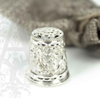 Наперсток из серебра «Башня-Б»