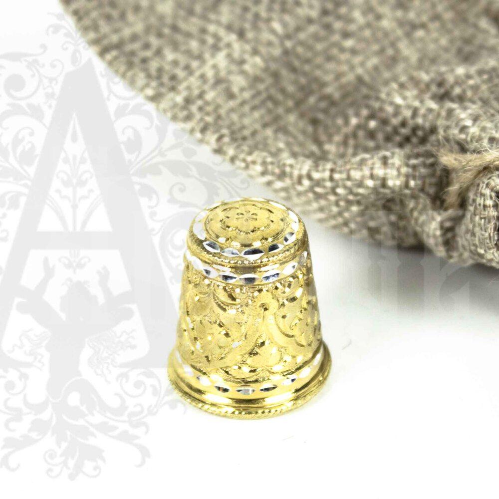 Наперсток из серебра «Башня-П» Апанде, 777006
