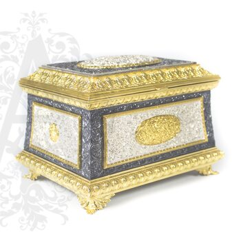 Серебряная шкатулка ручной работы «Клеопатра»