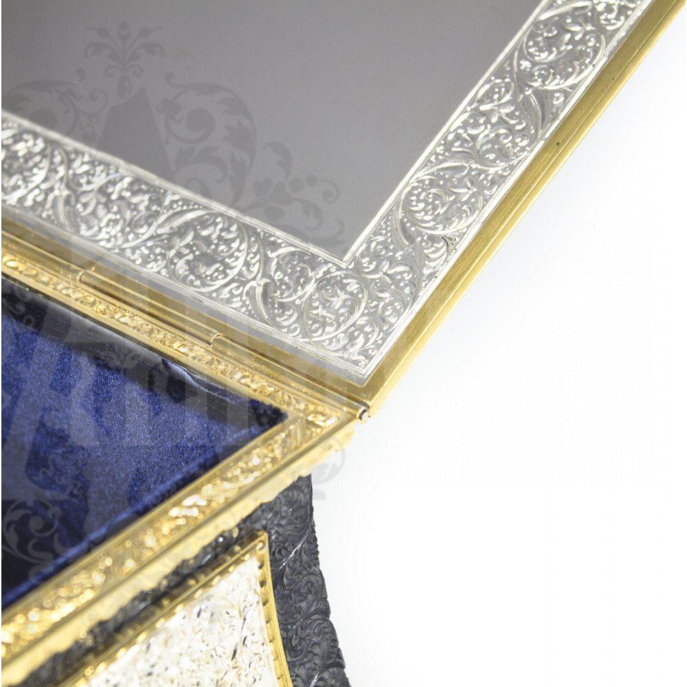 Серебряная шкатулка ручной работы «Клеопатра»  Апанде, 84000421