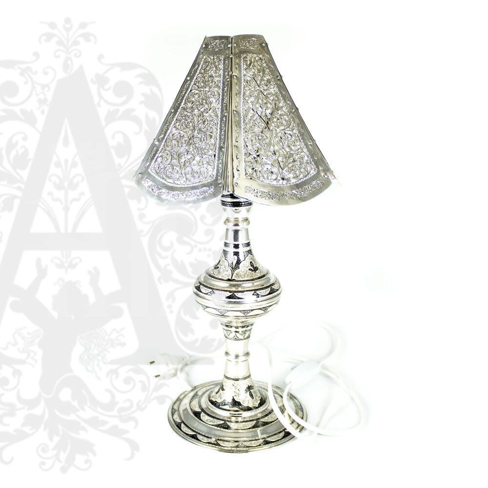 Лампа настольная из серебра Апанде, 77700050