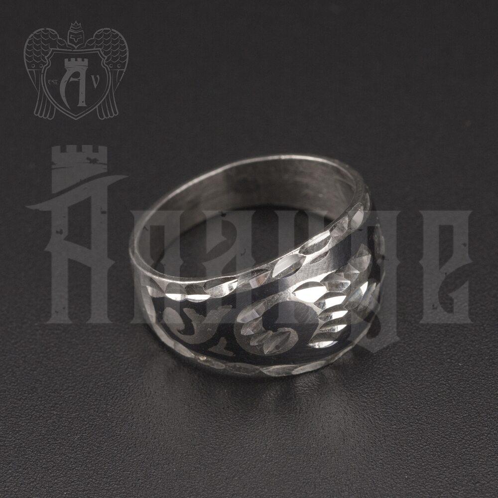 Кольцо кубачинское с чернью «Диво» Апанде, 82010214