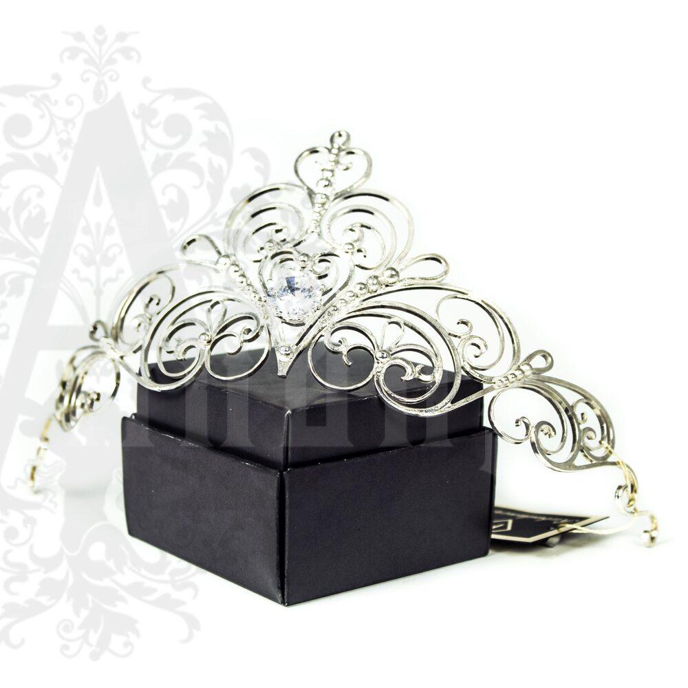 Диадема из серебра «Снежная королева» Апанде, 304090