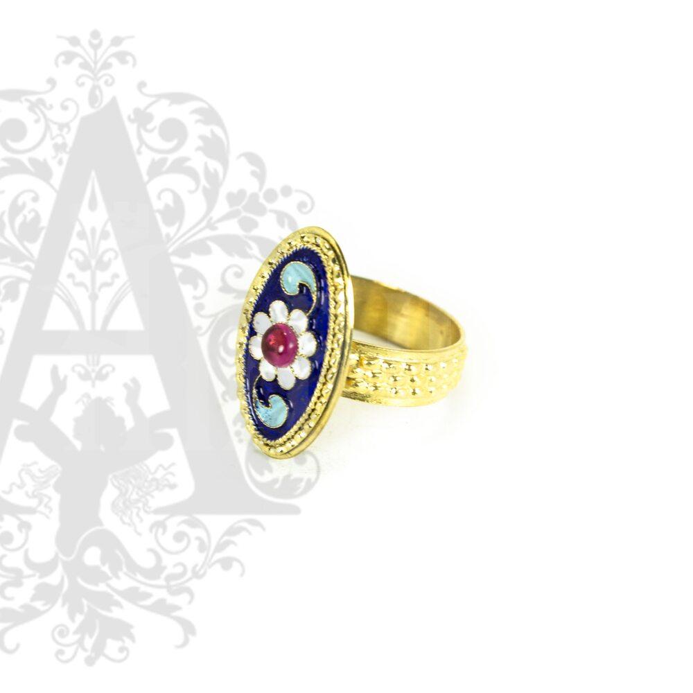 Комплект украшений «Горянка» Апанде, 0005009
